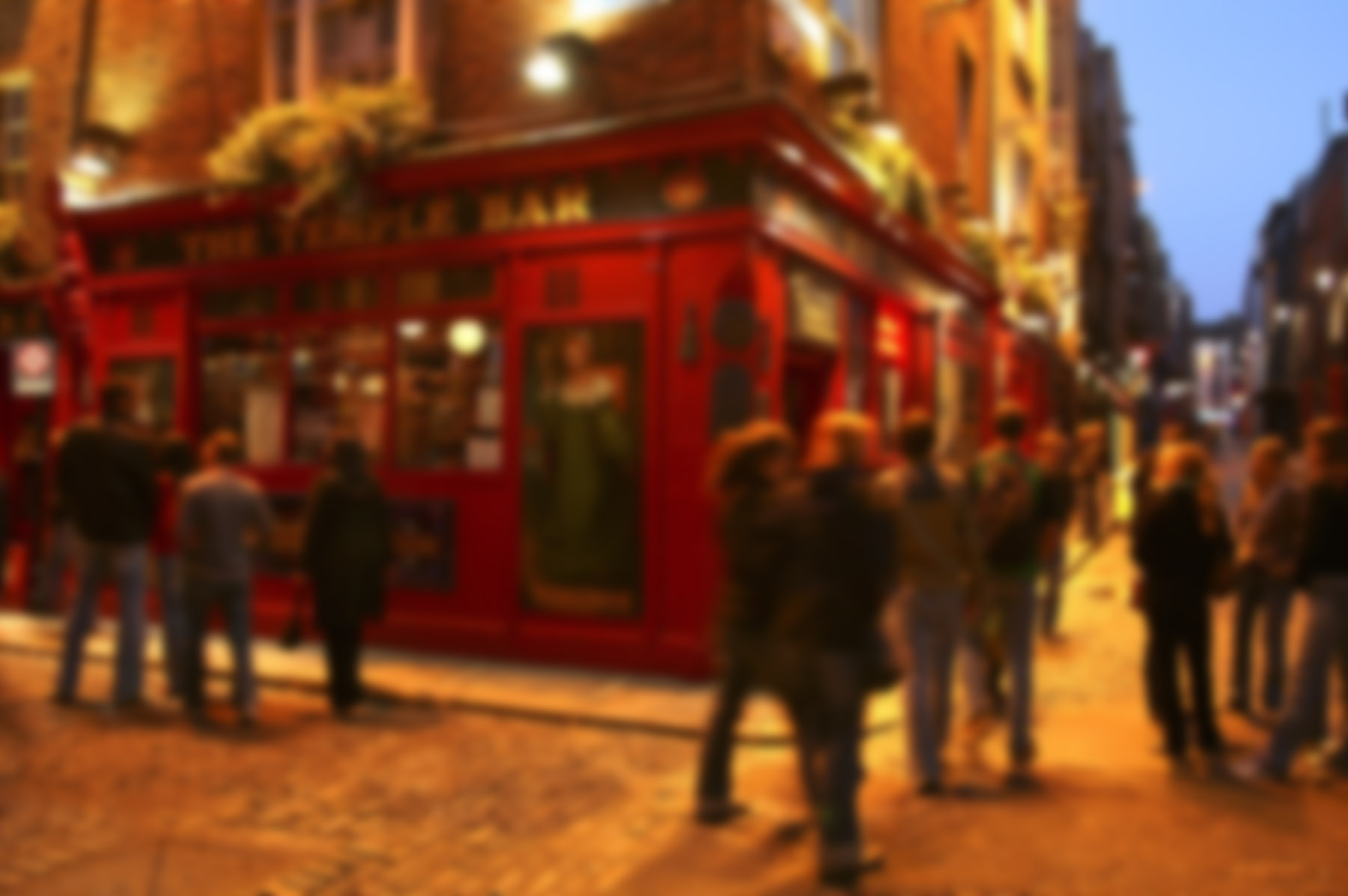 The Temple Bar in Dublin, Ireland (c)Bojan Radin